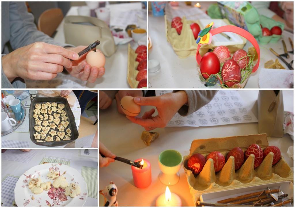 húsvét tojásírás