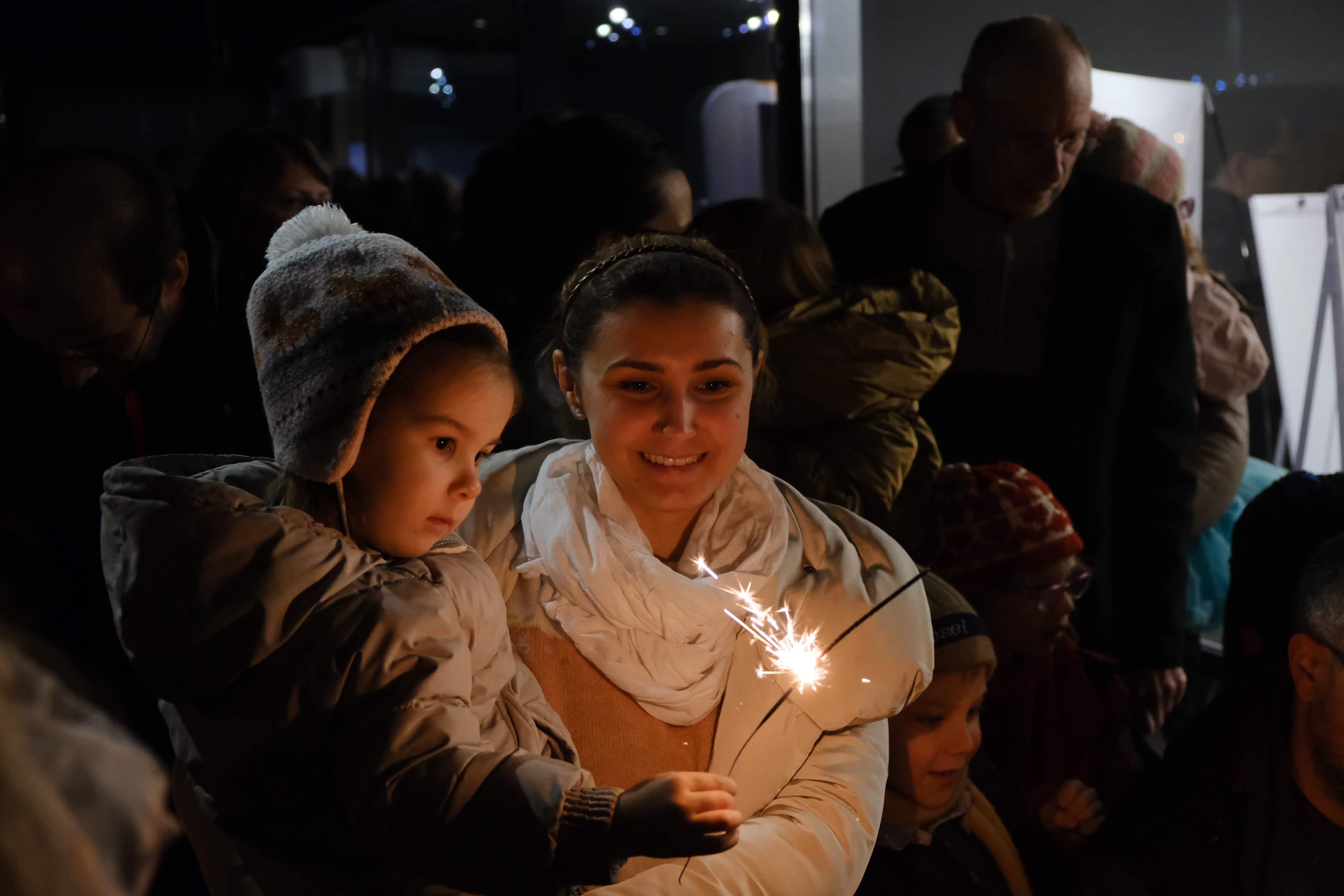 Rendhagyó karácsonyi ünnepély hagyományteremtő szándékkal